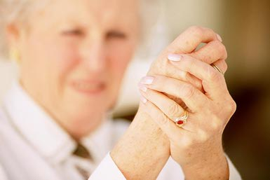 amiga con artritis