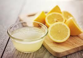 Zumo de limón para el dolor de artrosis de rodilla