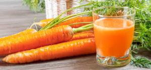 Carrot juice for arthritis
